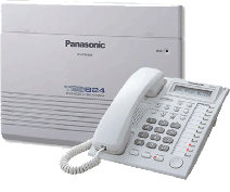 KXES824 Up to 8 CO lines and 24 Extensions with built in DISA / Message on Busy