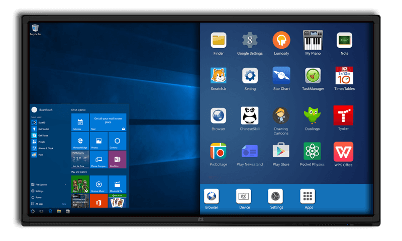 Android-and-Windows-iBoardTouch