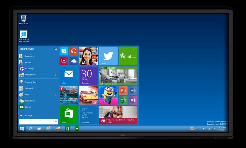 Windows iBoardTouch