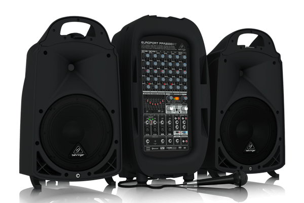 Audio systems portable pa